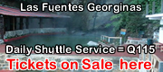 Las Fuentes Georginas Hot Springs Tickets on Sale here