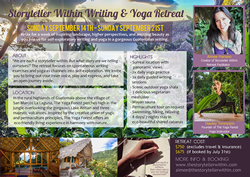Writing and yoga retreat
